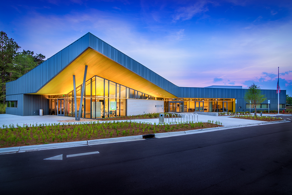 Pine Valley Library - Bordeaux Construction, Inc.